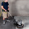 "EDIC Saturn™ Heavy Duty Floor Machines - 17"", Powder coated brush cover"
