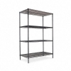 "Wire Shelving Starter Kit - 4 Shelves, 48""W X 24""D X 72 ""H"