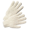 String Knit Gloves - Natural White