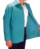 Cotton Sateen Jacket - Length: 30 in