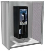 """ASI Telephone Accommodation For Surface Mounted Phone - 24""""W x 30""""H x 14""""D"""