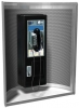 """ASI Telephone Accommodation with Curved Enclosure and Writing Shelf - 24""""W x 30""""H x 15""""D"""