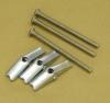 BOBRICK Optional Mounting Kit for Grab bars - (3) #14 X 2 1/2