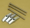 BOBRICK Optional Mounting Kit for Grab bars - (3) #14 X 2 1/2