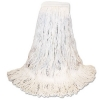 BOARDWALK Narrowband Looped-End Mop Heads - Large, White