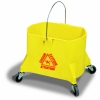 Continental Structolene® Mop Bucket - 44 Quart, Yellow