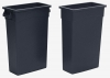 Continental Black Wall Hugger™ with Handles - 23 Gal.