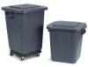 Carlisle Bronco™ White Square Waste Container - 40 Gal.