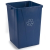 Carlisle Centurian™ Blue Waste Container - 35 Gallon