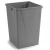 Carlisle Centurian™ Gray Waste Container - 50 Gallon