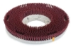Carlisle Colortech™ Cleaning Red Rotary Grit Brush - 12.5""
