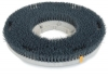 Carlisle Colortech™ Light Cleaning Green Rotary Grit Brush -  15""