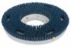 """Carlisle Colortech™ Blue Aggressive Scrubbing Grit Brush - 15"""""""