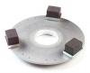 """Carlisle Stainless Steel Grind-Away® Concrete Floor Grinder - 15"""""""