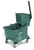 Carlisle Green Flo-Pac® Bucket with Side Press Wringer - 35 Qt.