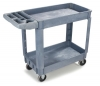 "Carlisle Bin Top Utility Carts Small Bin Top Utility Cart, 500 lb - 40"" x 17-1/4"""