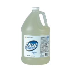 DIA82838 - DIAL Liquid Antimicrobial Soap for Sensitive Skin - Gallon Bottle