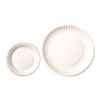 "RUBBERMAID 6"" White Paper Plates - White"