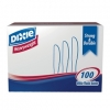 DIXIE Heavy Weight Polystyrene Knife - White