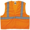 GloWear® 8205HL Class 2 Super Econo Mesh Safety Vest - Orange, 4XL/5XL
