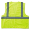 GloWear® 8205HL Class 2 Super Econo Mesh Safety Vest - Lime, Large/XLarge