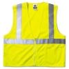 GloWear® 8210Z Class 2 Economy Vest - Large/XLarge, Lime