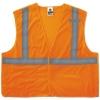 GloWear® 8215BA Class 2 Econo Breakaway Mesh Vest - Orange, 4XL/5XL