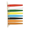 Status Flags - 8 Flags, Assorted Colors
