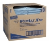 Kimberly-Clark® WYPALL* X70 Blue Wipers - 300 Foodservice Towel Sheets