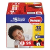 Kimberly-Clark® Huggies® Snug & Dry Diapers - SIZE 5, 27 LB TO 35 LB, 96/PK