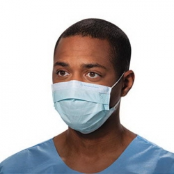 KCC47080 - Kimberly-Clark® Procedure Mask w/Ear Loops - Blue