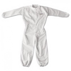 KCC49104 - Kimberly-Clark® A20 Elastic Back & Cuff Coveralls - White, XL