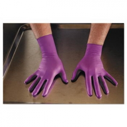 KCC50602 - Kimberly-Clark® NITRILE* Xtra* Exam Gloves - Medium, Purple