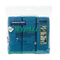 KCC83620 -  WYPALL* Microfiber Cloths with ® Protection - 6 Cloths per Bag
