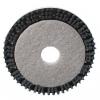 "Malish POWER-PAD MAL-GRIT LITE Scrubbing Brush/Pad Driver - 19"" Block - 15"" Pad"