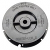 Malish CENTER-LOK II Pad Centering Device - Black - RH Thread - Full Set