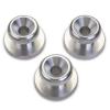 Malish Metal Lugs - Set of 3 Tapered
