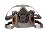 RUBBERMAID Half Facepiece Respirator 6000 Series, Reusable - Medium