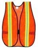 RUBBERMAID General Purpose Vests - Lime/Silver