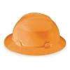 MSA V-Gard® Hard Hats - Orange, Slotted