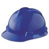 MSA V-Gard® Hard Hats - Blue, Slotted