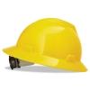 MSA V-Gard® Hard Hats - Yellow, Non-slotted