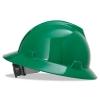 MSA V-Gard® Hard Hats - Green, Non-slotted