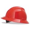 MSA V-Gard® Hard Hats - Red, Non-slotted