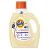 PROCTER & GAMBLE Tide® PurClean™ Liquid Laundry Detergent - Honey Lavender, 75 oz Bottle, 4/Carton