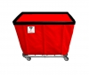 R&B Wire 12 Bushel Permanent Liner Basket Truck - 400 LBS Capacity