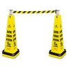 RUBBERMAID Cone Barricade System - Yellow