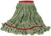 RUBBERMAID Commercial Swinger Loop® Wet Mop Heads - LARGE, Green, 6/Carton