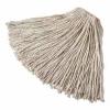 RUBBERMAID Commercial Cut-End Cotton Mop - 24 Oz, White