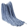 RUBBERMAID Synthetic Blend Mops - Blue, 16 OZ.